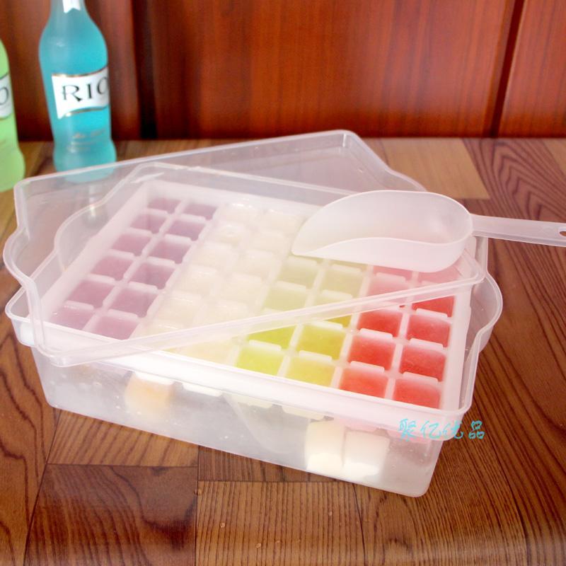Pencetak Es Batu Jaringan With Kotak Es Es Batu Cetakan