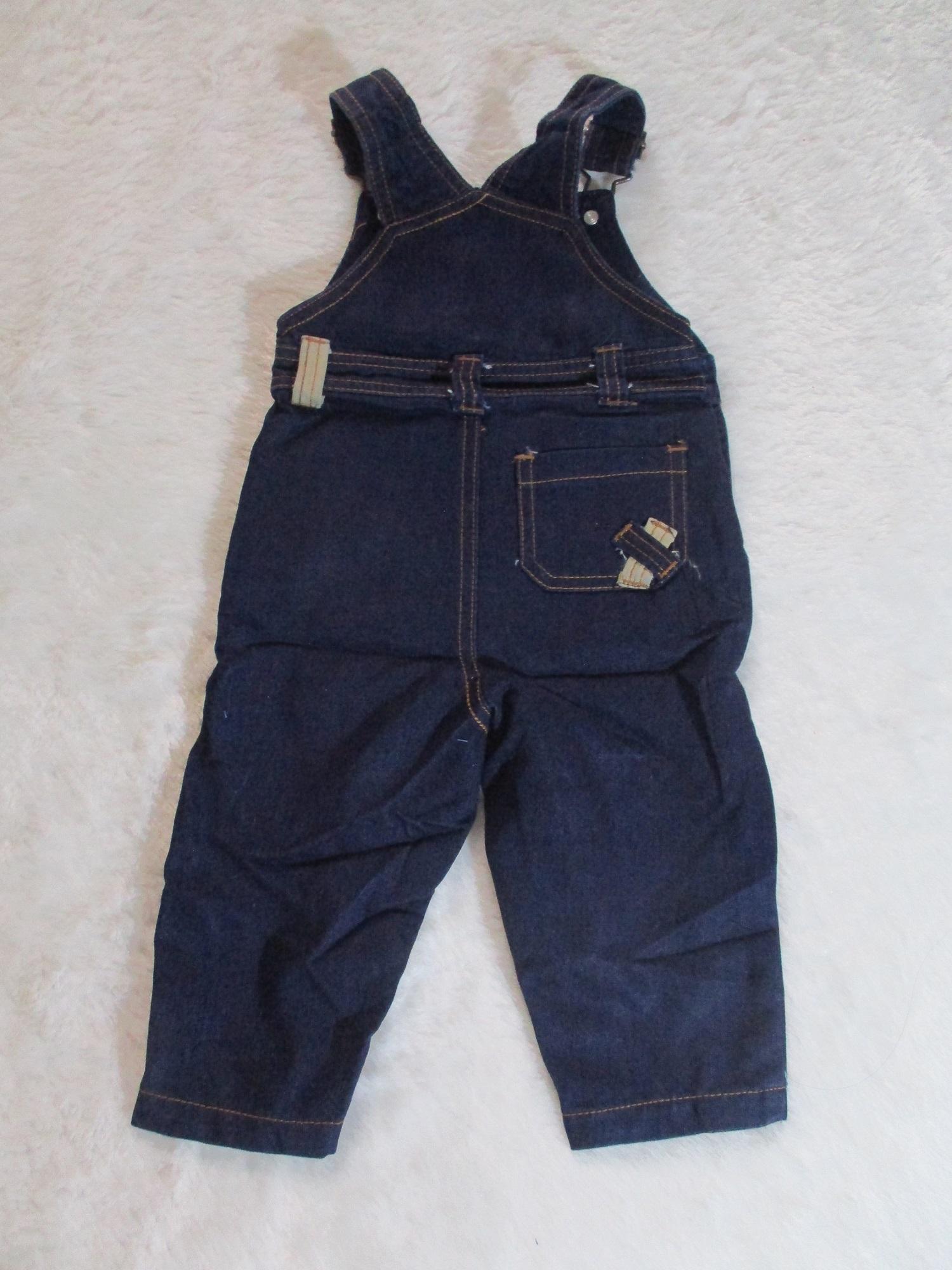 Import Jumpsuit Jeans Calvin Klein untuk Bayi/Anak