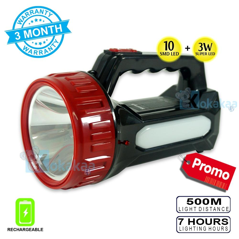 Getek Cree Xm-L2 U2 Single Mode 1200 Lumen Modul Led Senter Wf501 Wf502 (perak) By Masamall