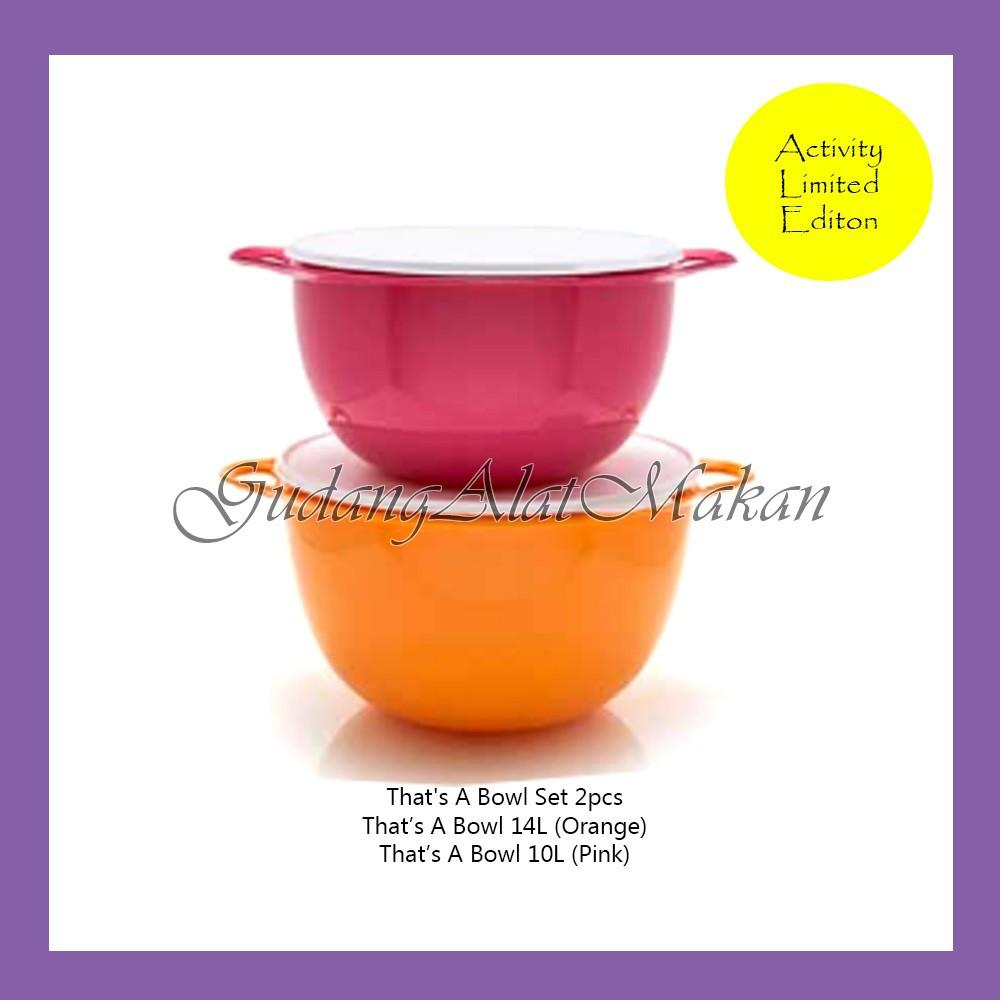 Tupperware That's A Bowl Set 2pcs