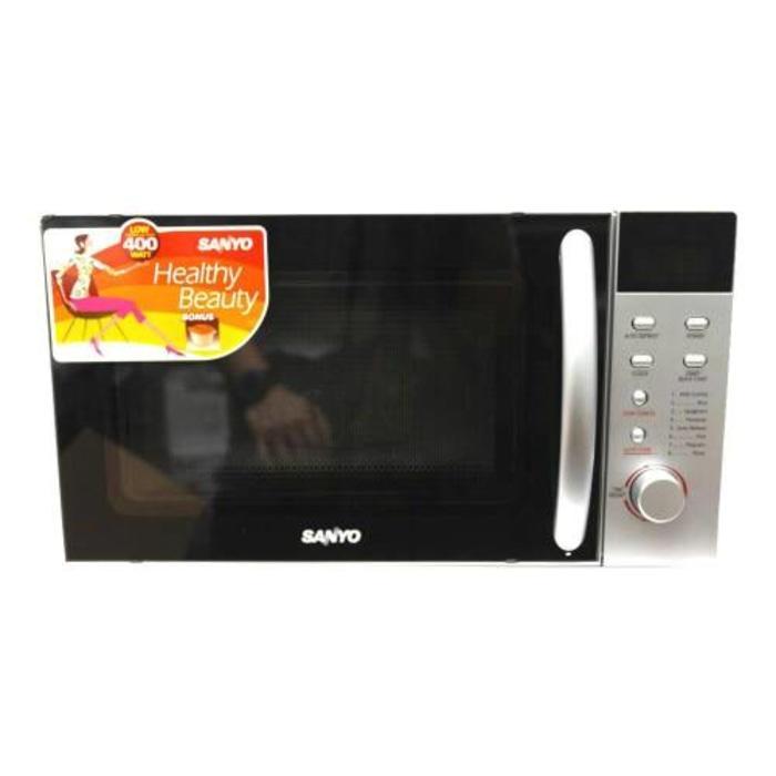 Khusus GO-SEND / SANYO EM-S1812S Microwave Oven Low Watt 400W