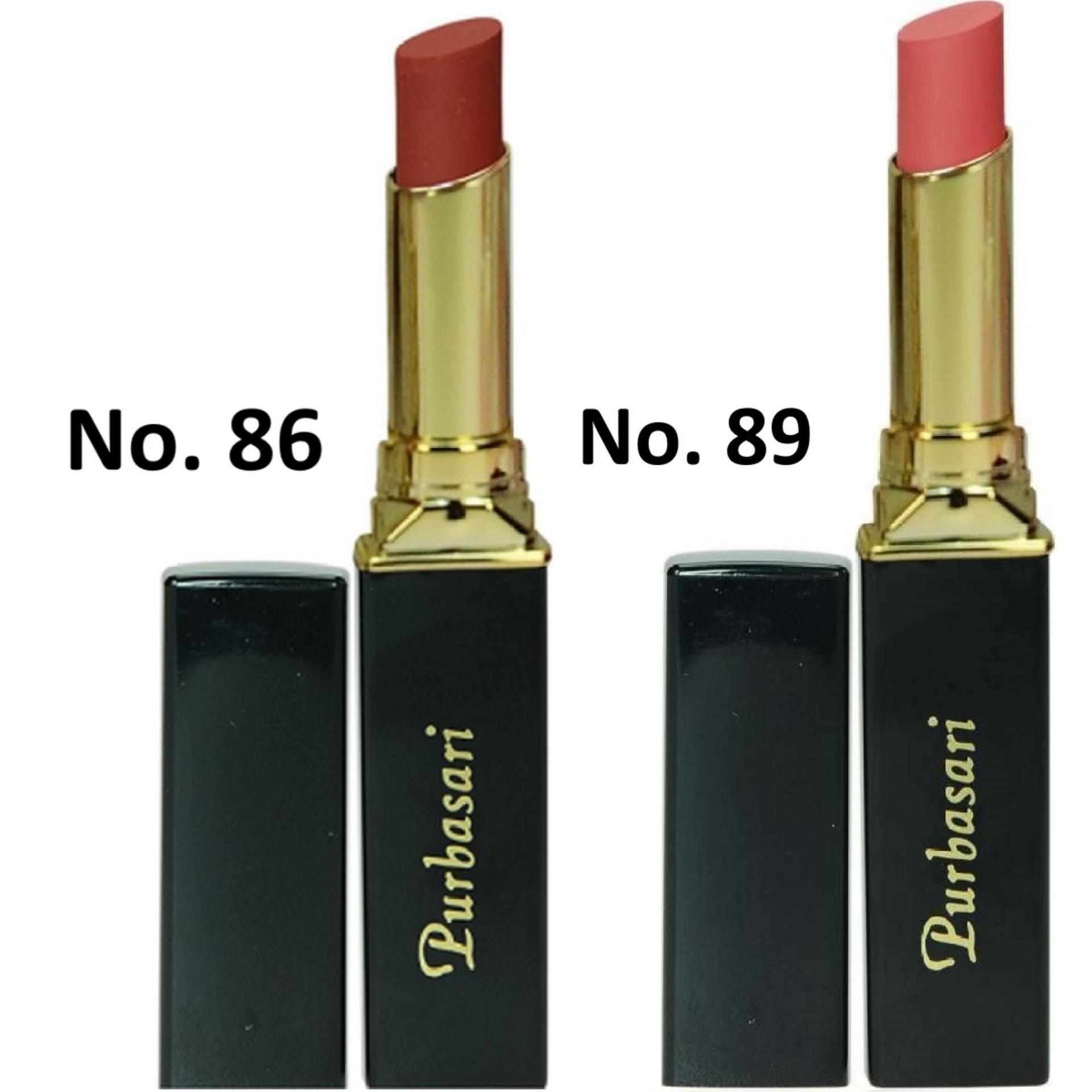 Purbasari Lipstik Collor Matte 86 dan 89