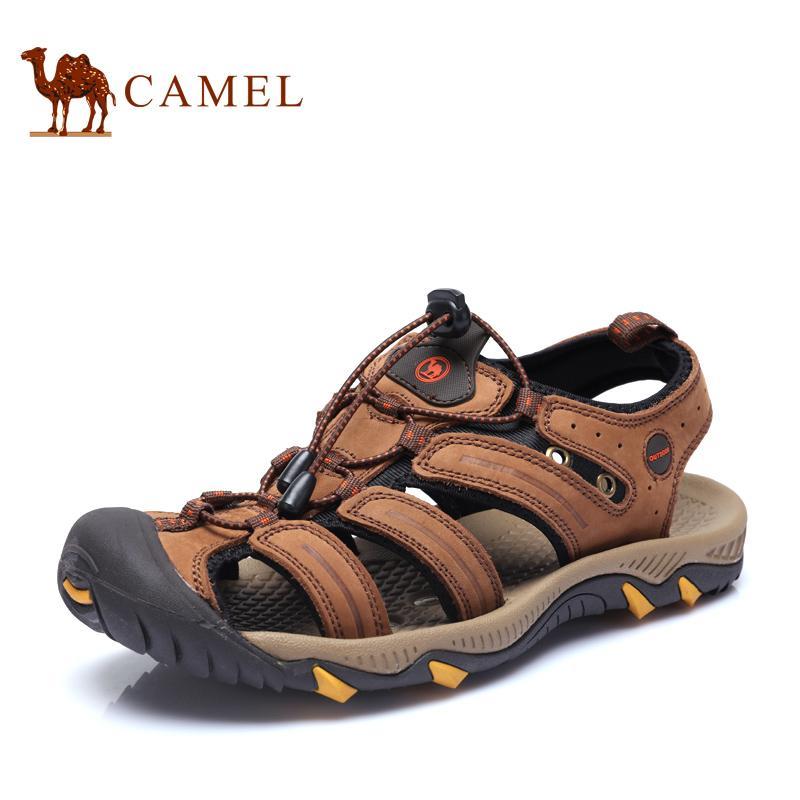 Camel Camel sepatu pria musim panas Sepatu berongga keluar kasual Sandal  Summer Sepatu kulit sapi 58d9ff8f49