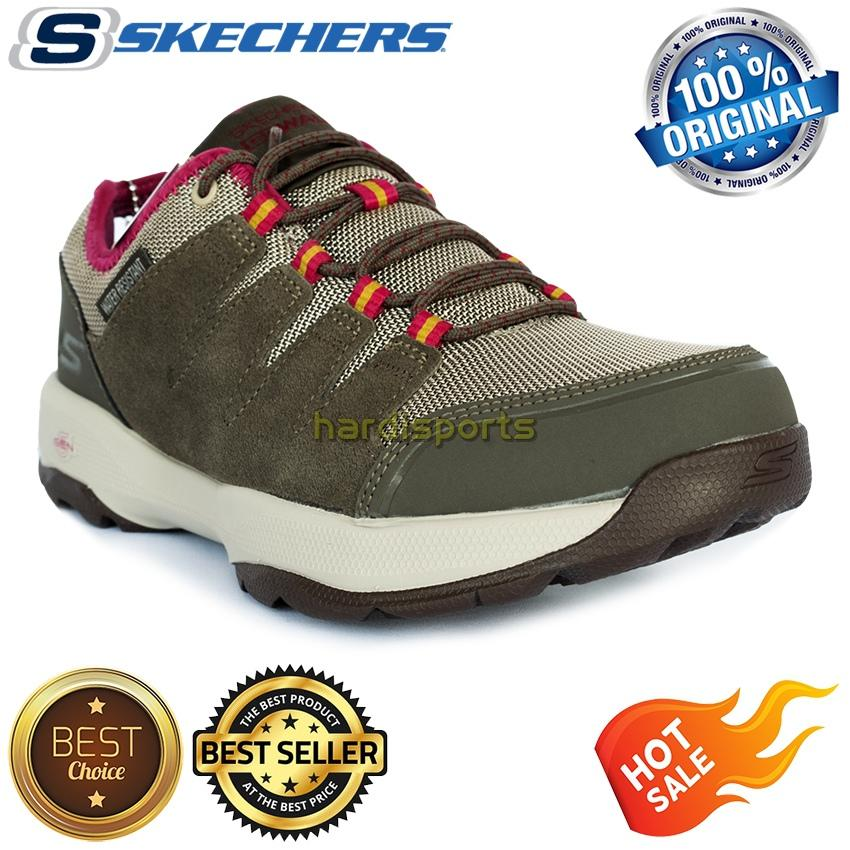 Sepatu Outdoor - Adventure Wanita Skechers Go Walk Outdoors 2 Pathway  14941-BRPK - Brown da23ab74a7