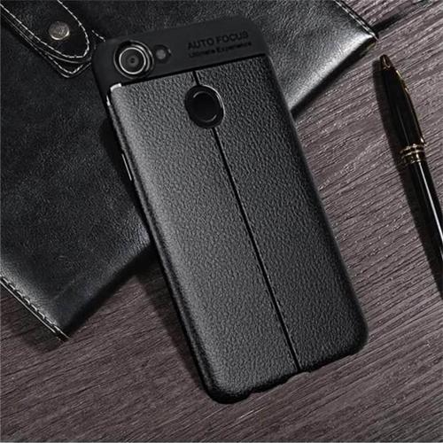 Case Auto Focus For OPPO A83 Leather Carbon - ABS