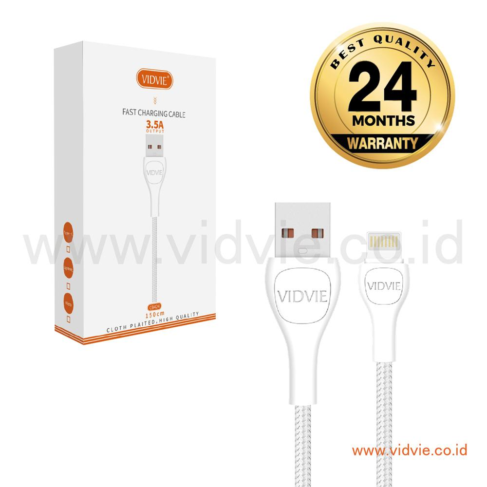 Buy Sell Cheapest Vidvie Iphone To Best Quality Product Deals 2 Usb Port Charger Ple207 Cable Included Cb424 Kabel Data Fast Charging