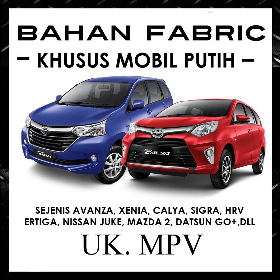 Cover Mobil ANTI LUNTUR Khusus Mobil Putih  Avanza, Calya, Ertiga / Sarung Khusus Mobil Putih