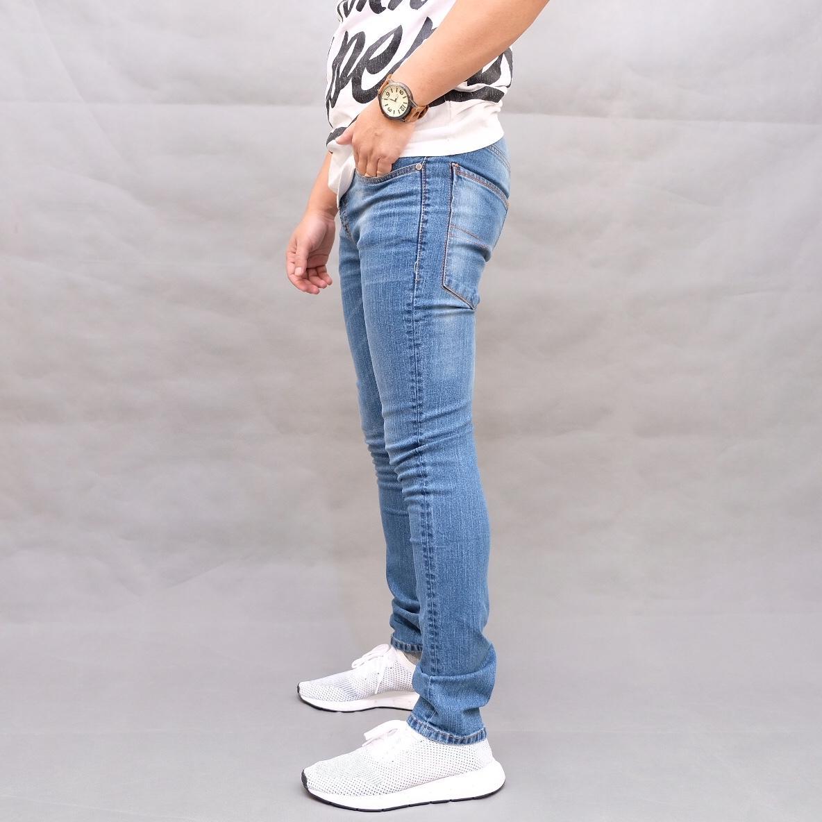 Jual Beli Celana Panjang Kerja Pria Bahan Formal Hr 832 Jeans Fit Skinny Straitch Lentur Melar Sofjeans Straigtch