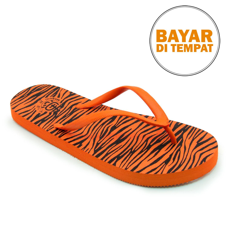 Megumi Tiger - Sandal Jepit - Oranye