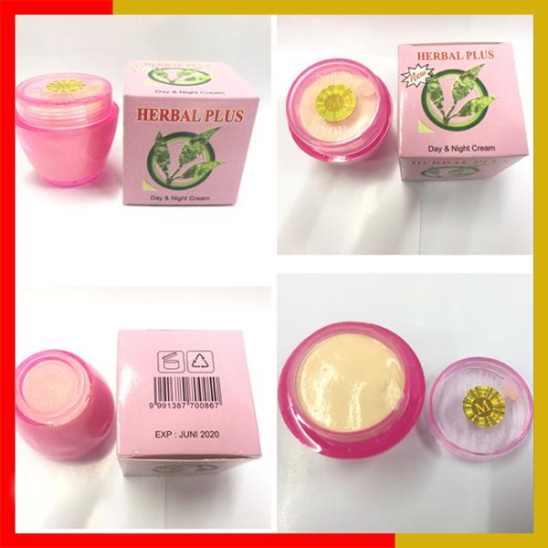 Cream Herbal Plus Original Day & Night By Loli Shop.