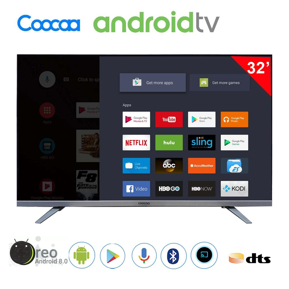 Coocaa 32 inch Android Smart Digital TV - 32E6
