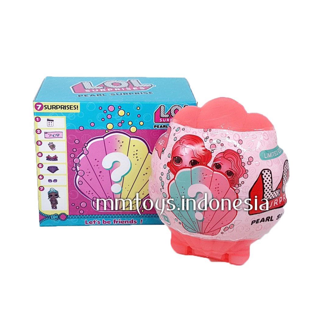 Mainan Koleksi Terlengkap Termurah Anak Telepon Lol Surprise Kerang Glow In The Dark Satuan 83801b