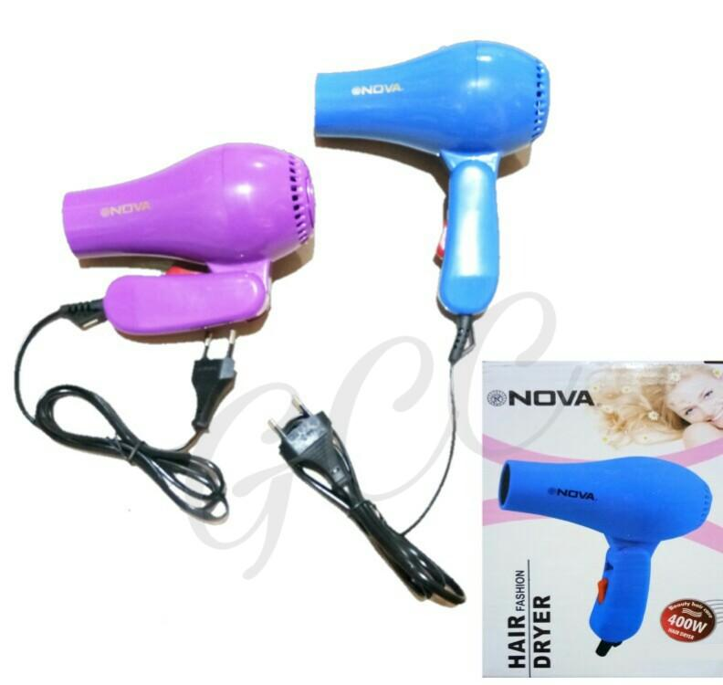 Nova Alat Pengering Rambut Hair Dryer Fashion Portable