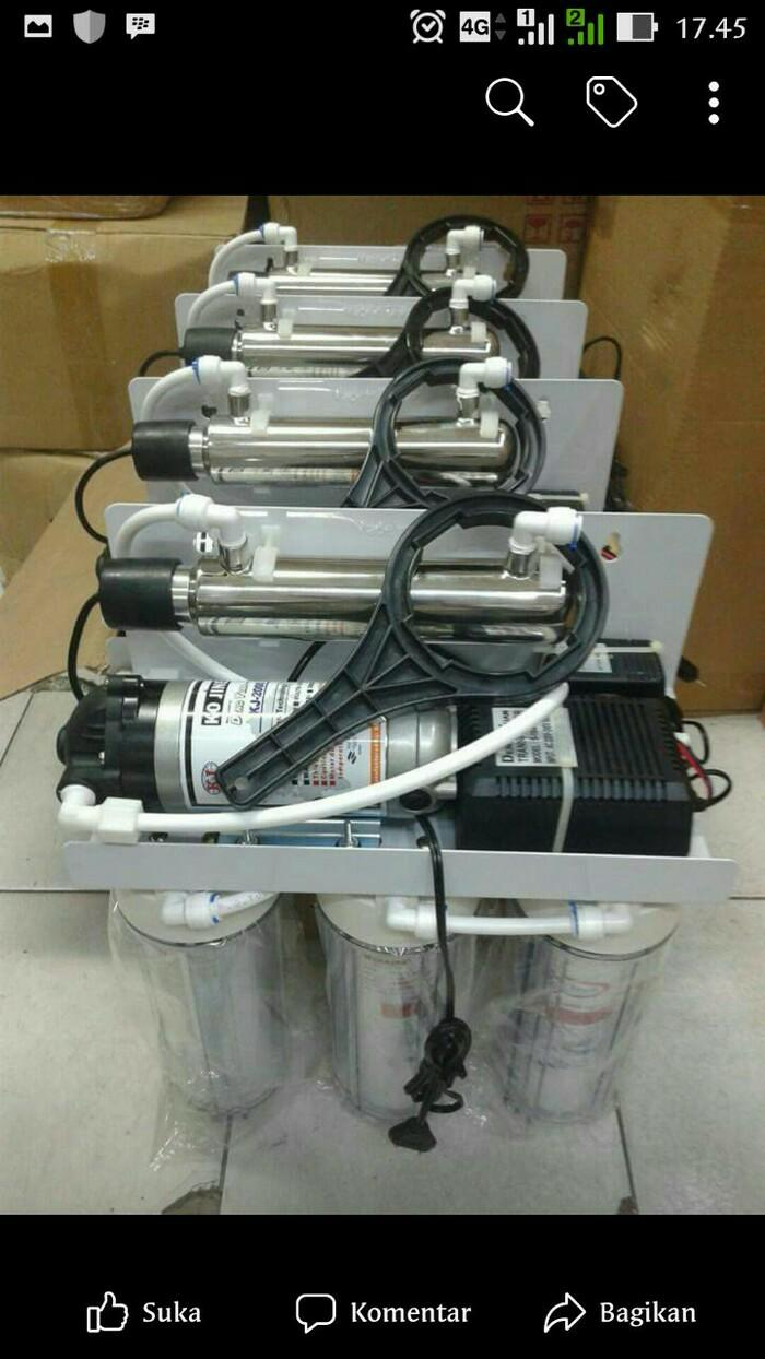 Free filter hartono kangen water GAC,Mix Resin,Cto Karbon,UV 1 Gpm