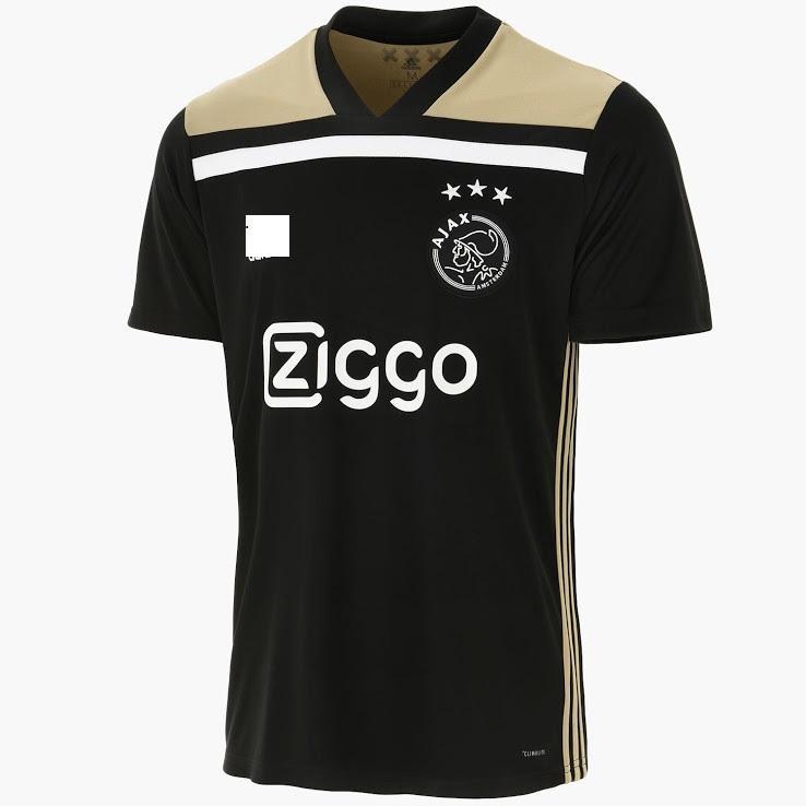 Toko Balonku Jersey bola ajax amsterdam away musim 2018/19 replica baju bola ayak away jersey  indonesia baju olahraga ajax kaos bola ajak best seller short sleeves