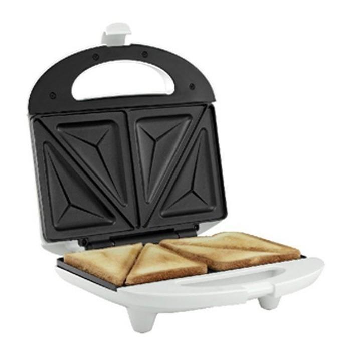 Toaster Sharp Pembuat Sandwich Putih Alat Pemanggang Roti Bakar - Suvmzf