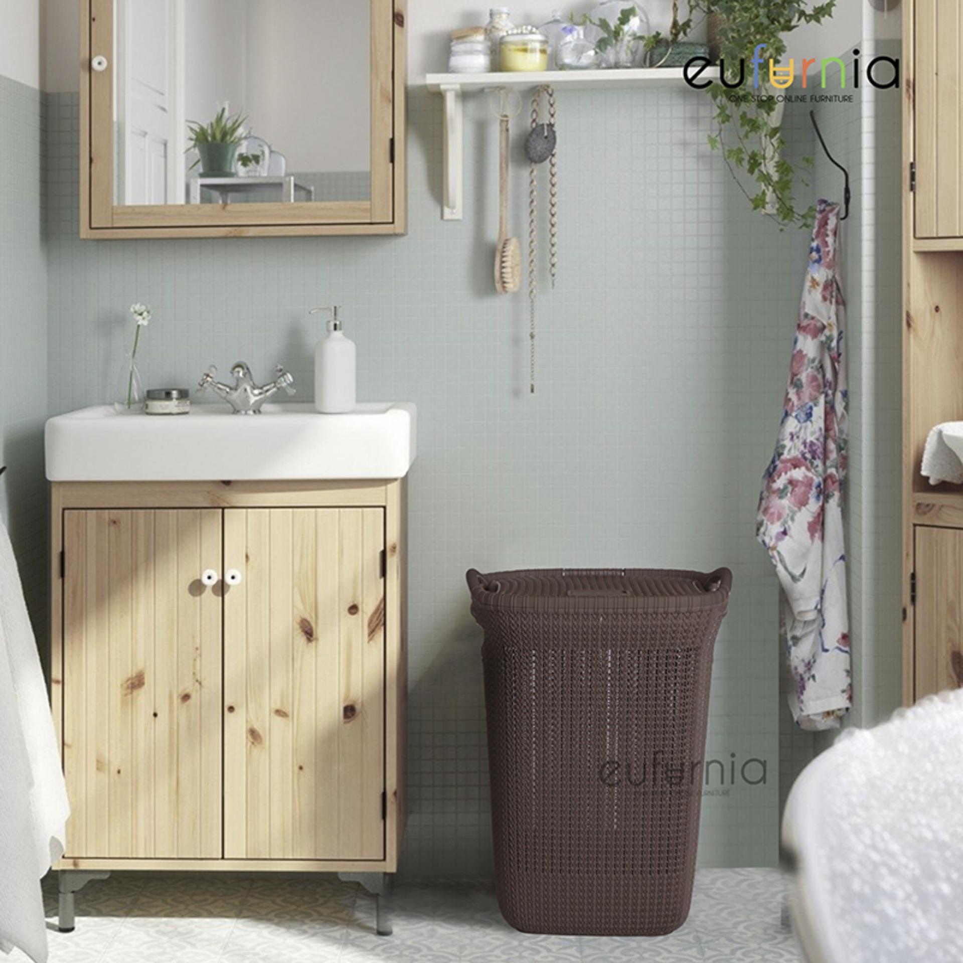 Tempat Baju Kotor Eufurnia Olymplast Laundry Basket - OLB / 100% FREE ONGKIR JAWA DENPASAR