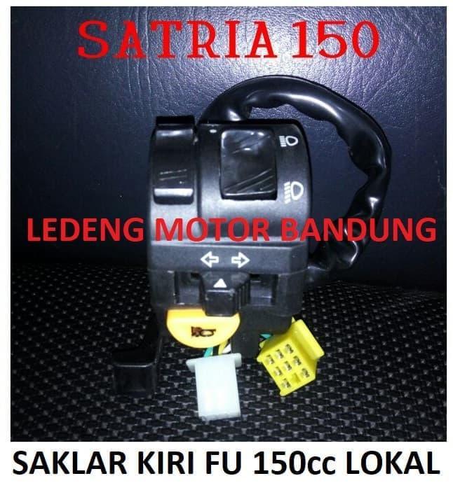 Saklar Kiri Fu Satria 150Cc Switch Kabel Tombol Klakson Sen Lampu Dim - ready stock