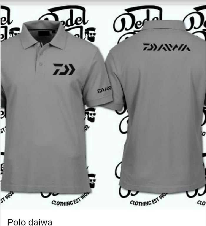 polo shirt/kaos kerah MANCING DAIWA - zTbbp7