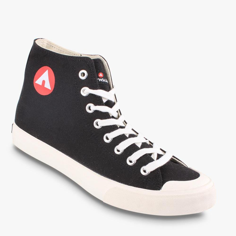 Airwalk New Basic Canvas Sepatu Sneakers Pria - Hitam - BTS 476c076a89