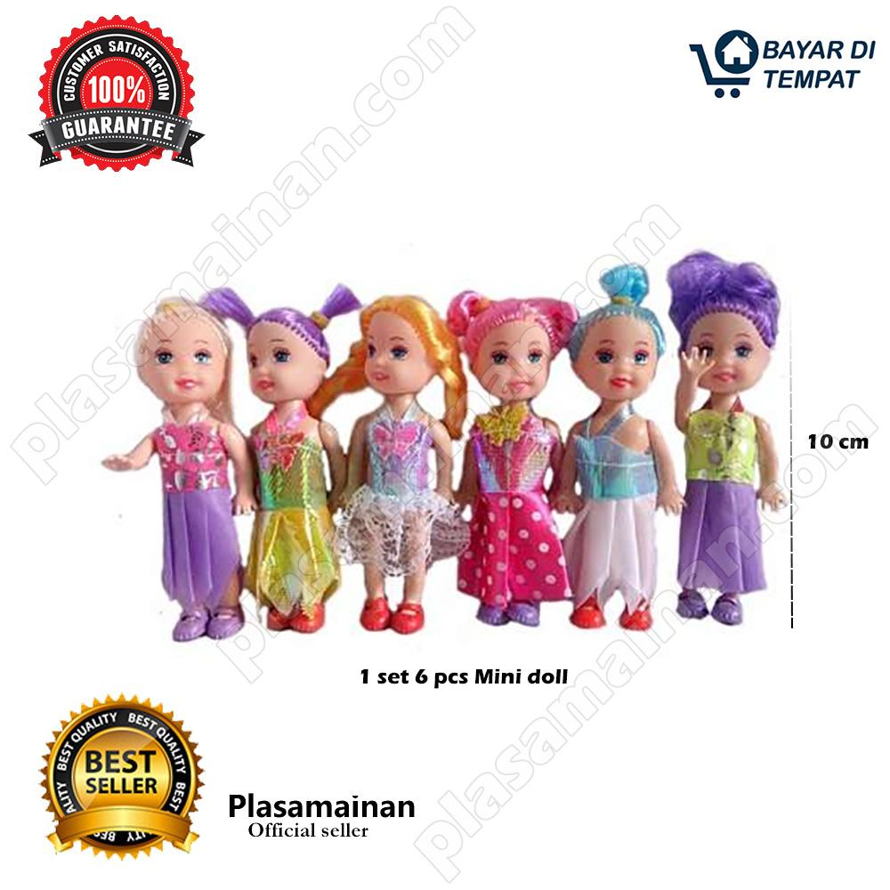 AA Toys My Dearm Mini Doll Set 7072-C 6 Pcs Mainan Boneka Mini - 4463c6993b