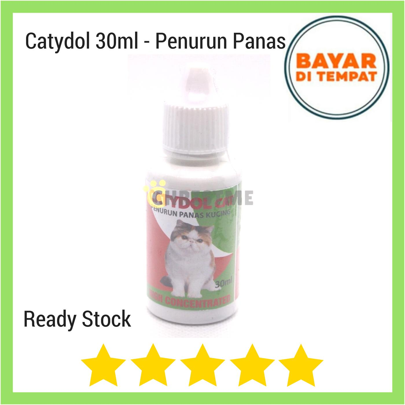 Catydol 30 Ml Original - Obat Penurun Panas Kucing High Concentrate By Christ Me.