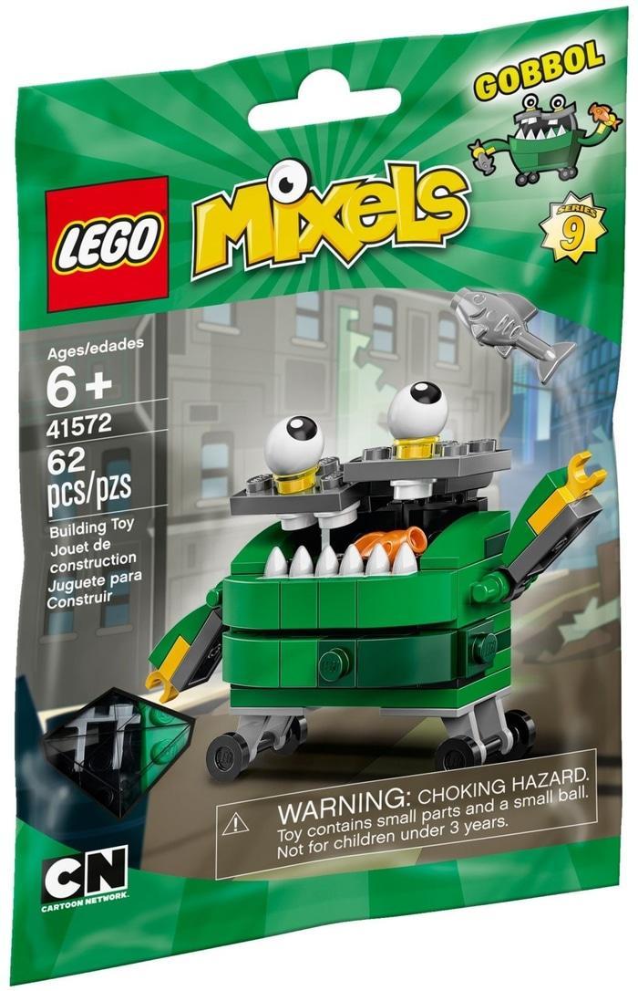 Lego 41572 Mixels Series 9 - Gobbol Mixel - Sealed