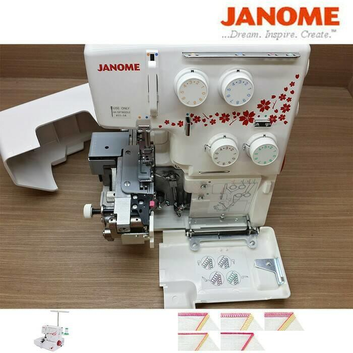 [PROMO] Janome 990D - Mesin Obras dan Neci Portable - Promo Ongkir