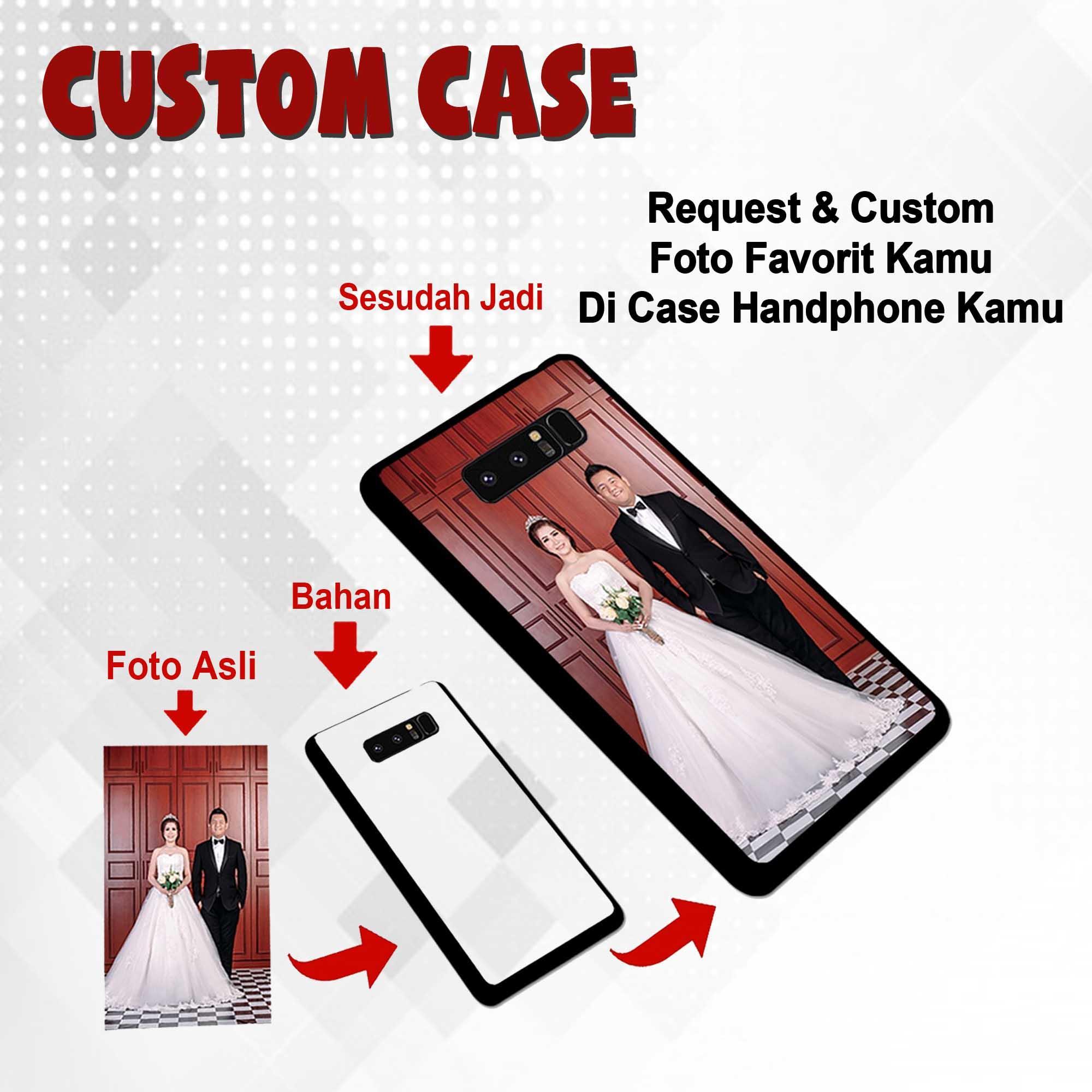 Custom Case Bisa Request Gambar dan tambah Nama