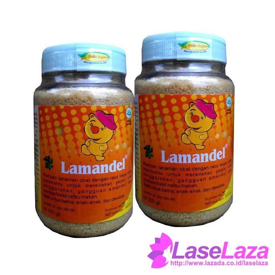 Herbal Lamandel Obat Amandel 200gr - 2botol Suplemen Makanan Terpopuler
