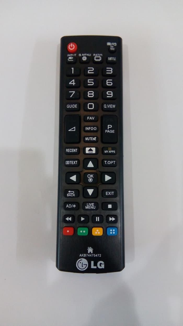 LG Remote TV LED/LCD AKB- Hitam cocok untuk semua tipe akb