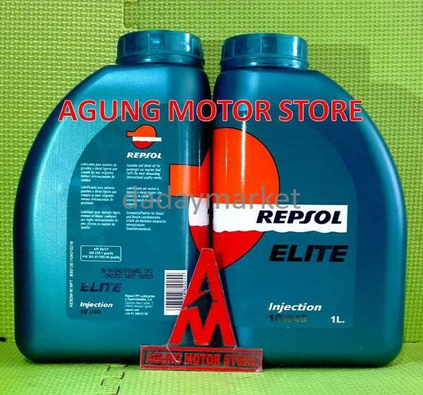 LIMITED EDITION Oli Mesin Mobil REPSOL ELITE INJECTION 10W40 ( 1 lite