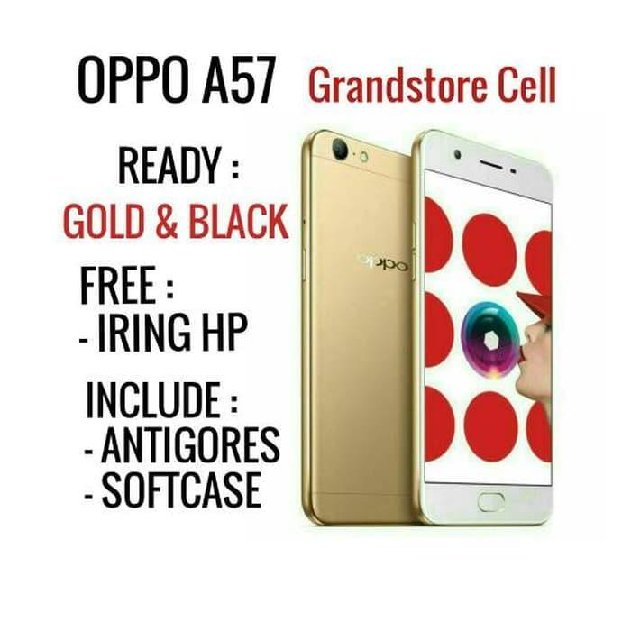 OPPO A57 RAM 3 ROM 32 GARANSI RESMI          / handphone / hp / hp murah / xiaomi / samsung / oppo / iphone / vivo / asus / tablet / redmi / asus zenfone / lenovo / sony / tam / garansi / garansi tam