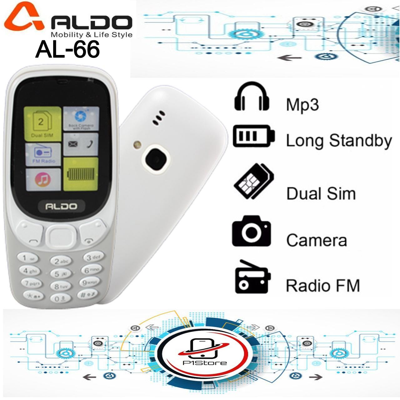 HP Aldo AL-66 Dual SIM 1.8 Inch Aldo AL66 Aldo AL 66 Camera FM Radio