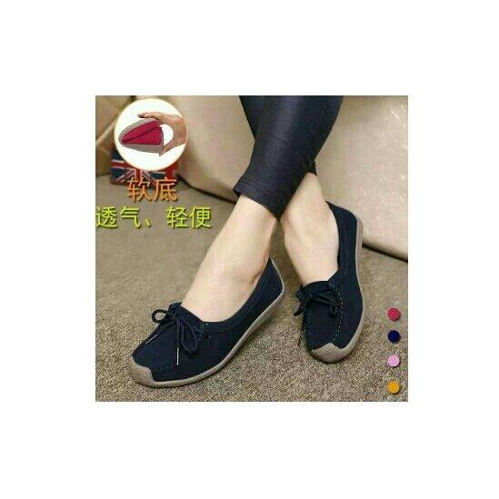 jayatri shoes - sepatu wanita slip on bludru variasi tirai tali