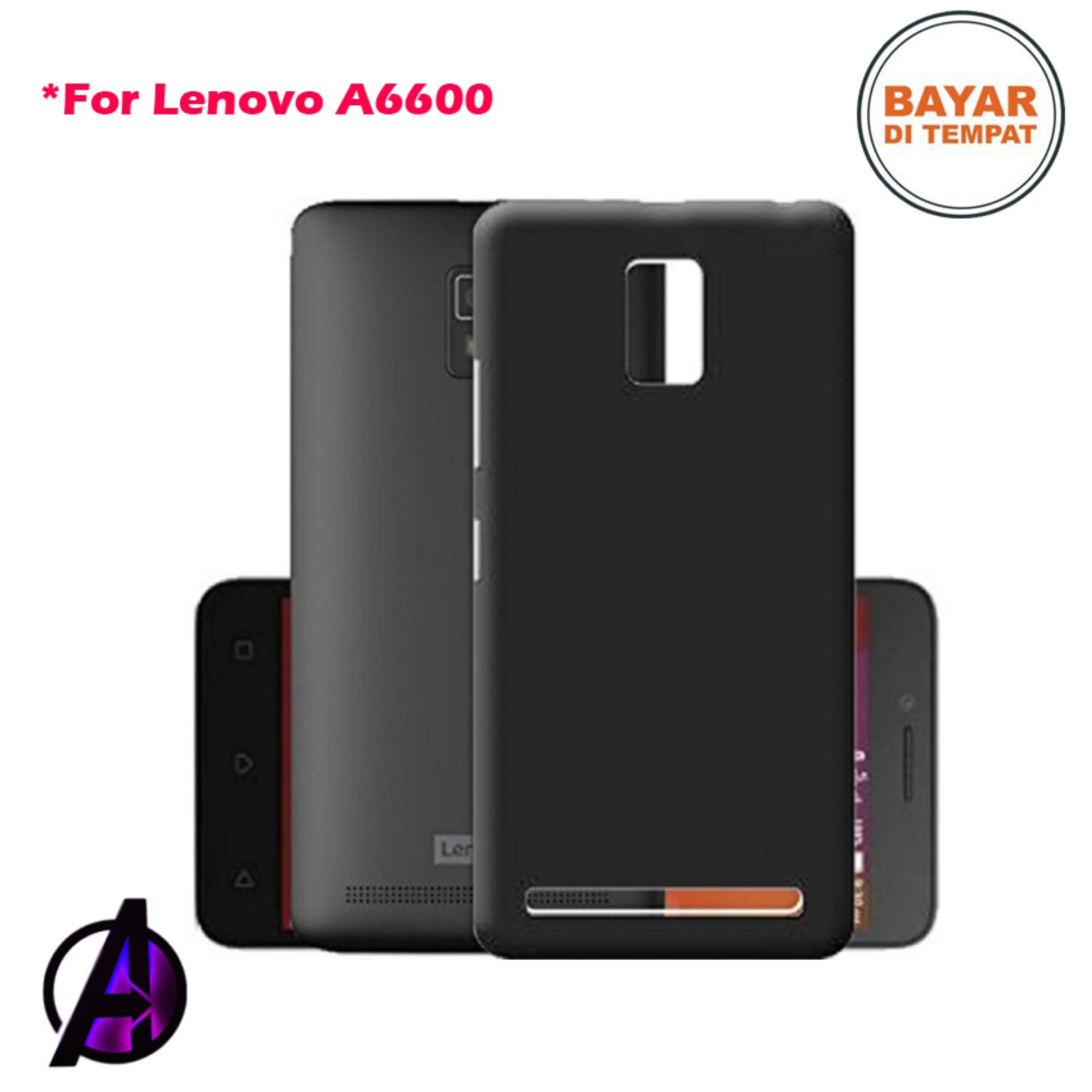 Case Black Matte Soft Slim Lenovo A6600