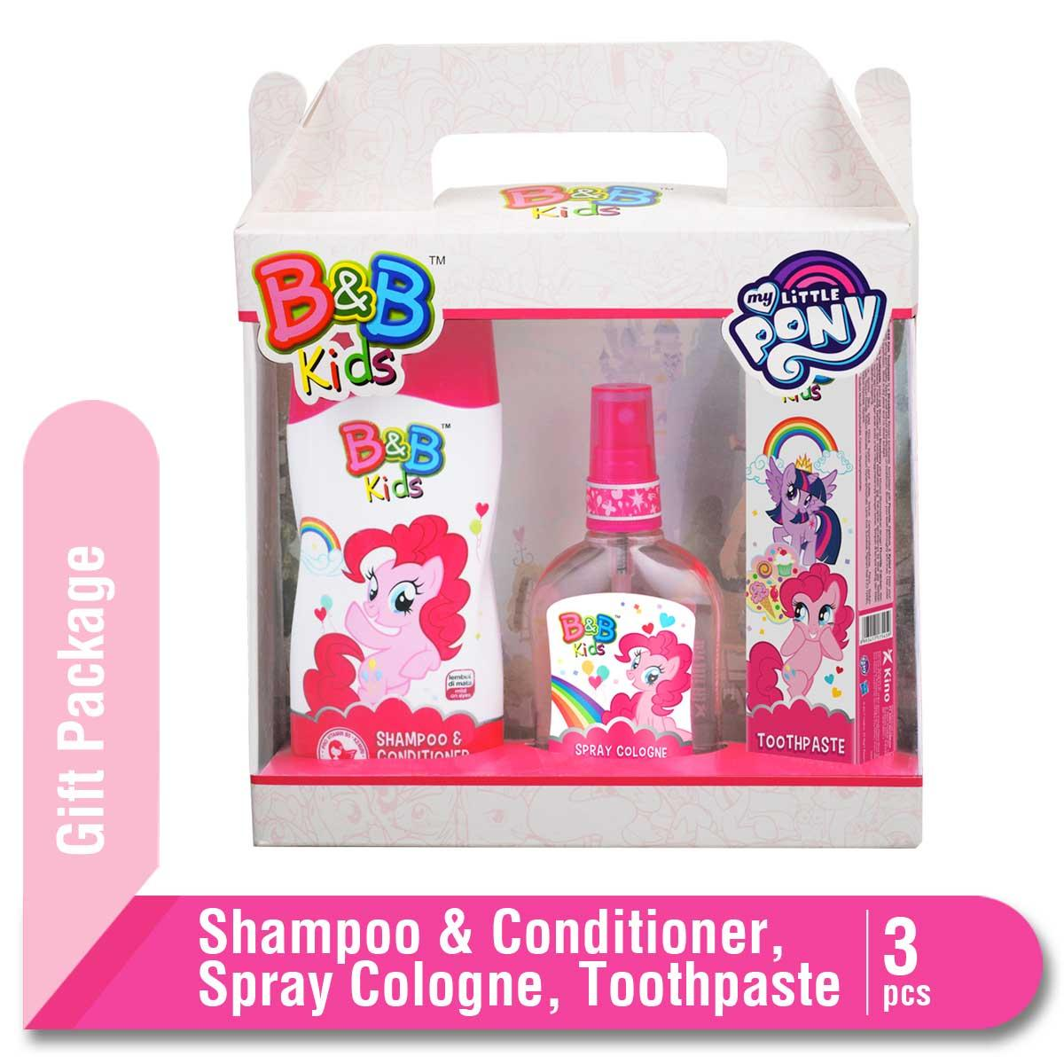 B&B Kids My Little Pony Gift Package Pink