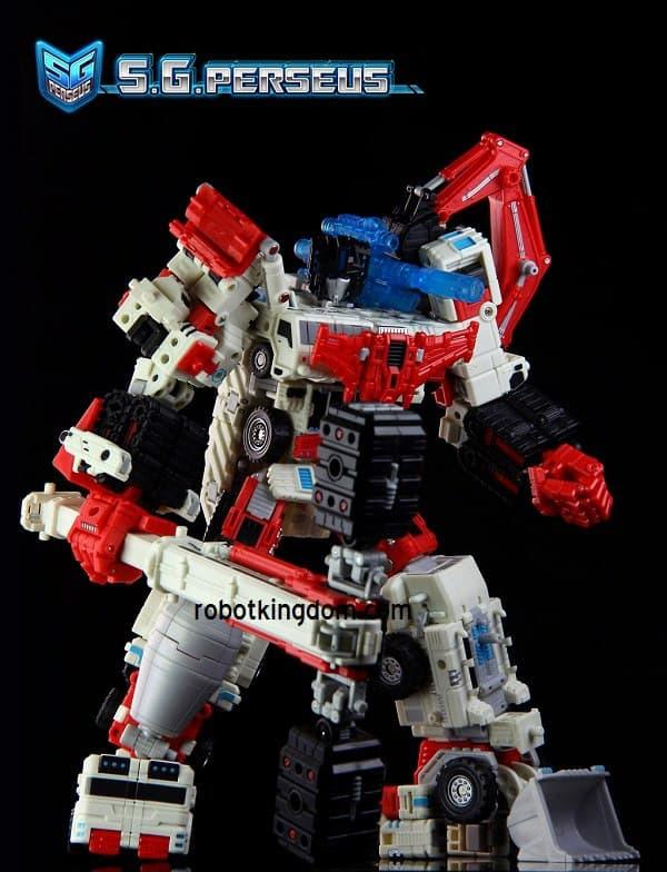 BEST SELLER!!! Transformers Third Party TFC PERSEUS (not DEVASTATOR) LIMITED - K5N6A4