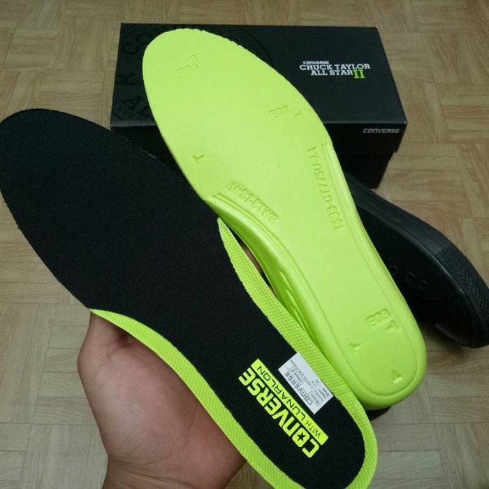 Sepatu Converse Chuck Taylor 2 Low Full Black