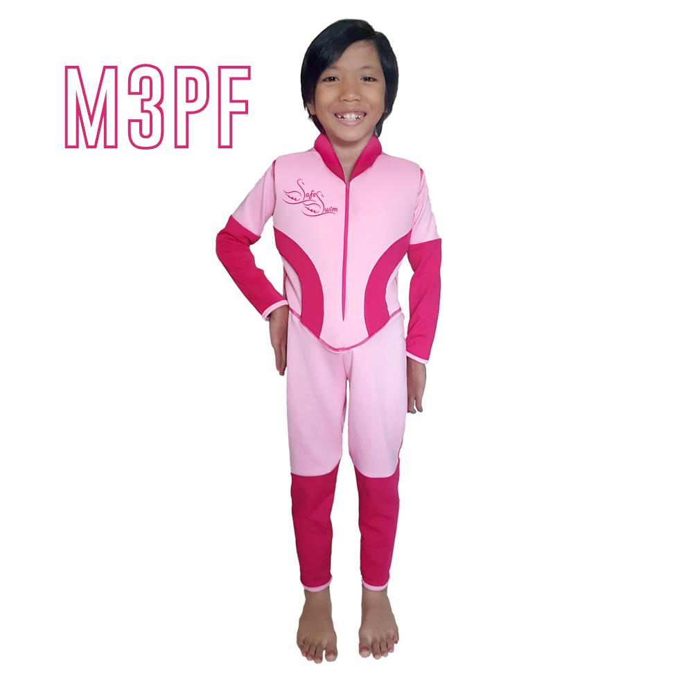 Discount Safe Swim Baju Renang Anak Mengapung Lengan Panjang -Renang Pelampung - Model 3