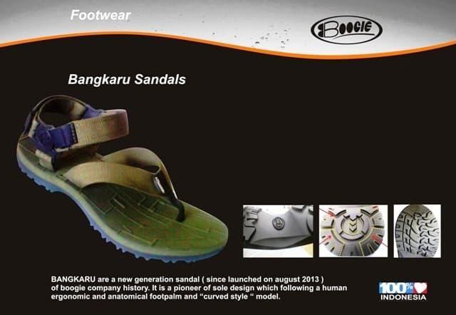 BEST SELLER!!! sandal gunung BOOGIE bangkaru - WYUklh