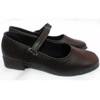 Sepatu Pantofel Wanita   Sepatu Paskibra   Sepatu Sekolah   Sepatu Formal  Wanita 001 - HITAM 651895791c