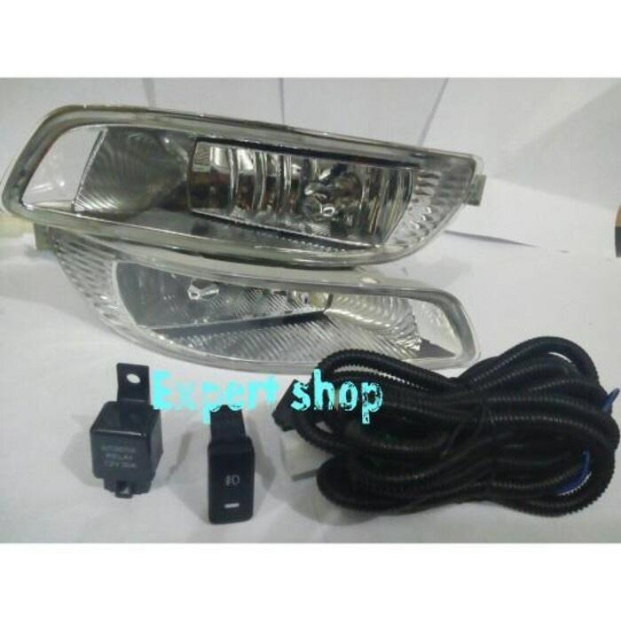 foglamp / fog lamp / lampu kabut (bumper) kijang kapsul tahun 2003 | ( lampu  mobil hid plafon depan rem sorot led h4 kabut fog lamp tembak variasi strobo rem toyota innova hid avanza osram )