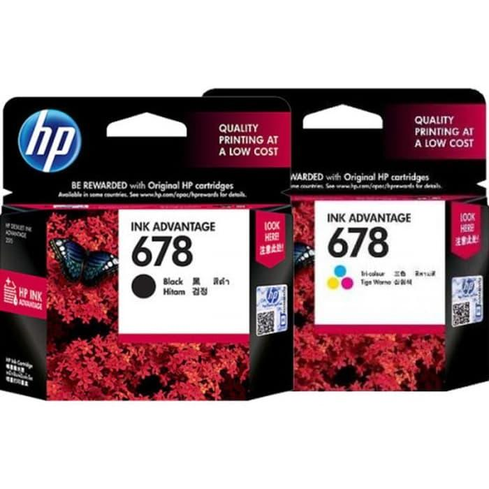 HP 678 Black + Color Ink Cartridge