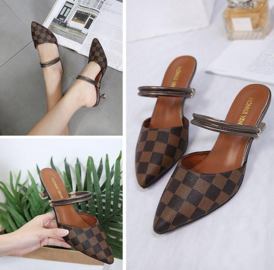 Buy Sell Cheapest Terlaris Wedges M Best Quality Product Deals Sandal Flat Karet M53 Putih Sepatu Selop M0tip Kotak Tali