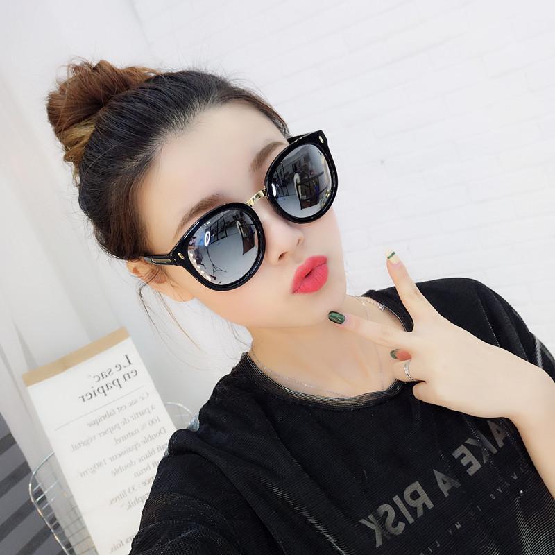 In Kacamata Hitam Wanita Versi Korea Pasang Retro Gaya Harajuku Ulzzang  Polarisasi Perlindungan UV Kacamata Hitam fae48e1874