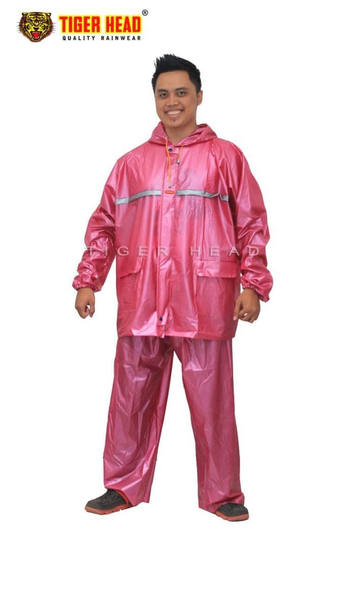 [ GARANSI 100 ] Jas Hujan Big Size, Extra Large Sumo merk Tiger Head 68275 XXXXXXL,6XL @ jas hujan