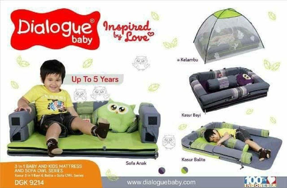 Kasur Bayi Dialogue Owl Series DGK9401 Ranjang Bayi Tempat Tidur Bayi Tempat Duduk bayi
