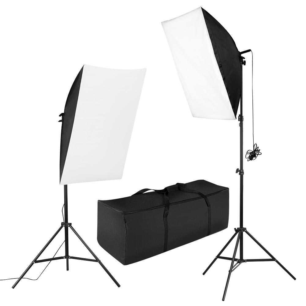 Portrait Foto Studio Lightning Kit Youtube Vlog Unboxing - LD-TZ07A