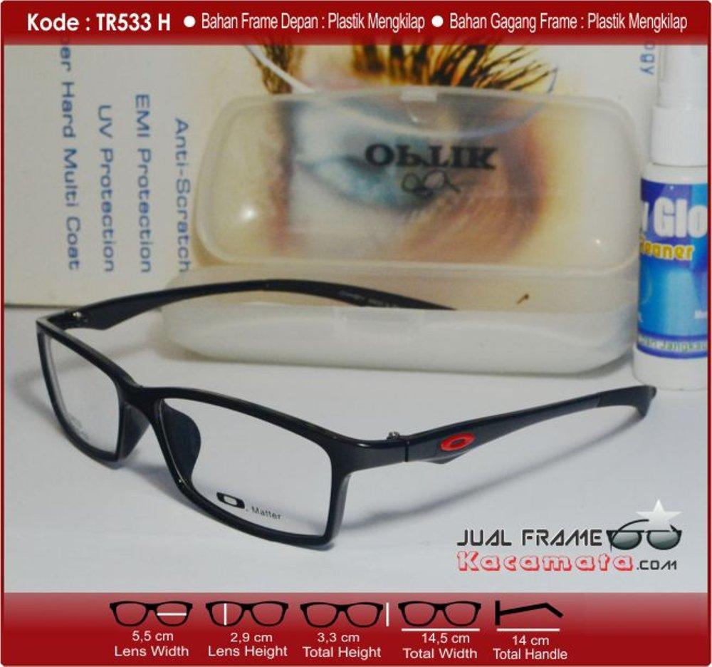 Frame Kacamata Lentur - Lensa Minus Baca Minus Antiradiasi - Kacamata  Premium Sporty - Kacamata Hitam 9402c5fffb